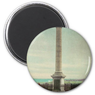 Wolfe Monument, Plains of Abraham, Quebec rare Pho 2 Inch Round Magnet