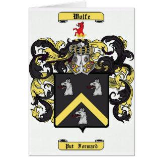 Wolfe Tarjeta De Felicitación
