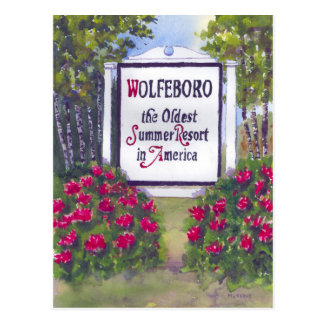 Wolfeboro NH Postcard