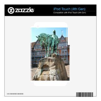Wolfenbüttel, rider monument decals for iPod touch 4G