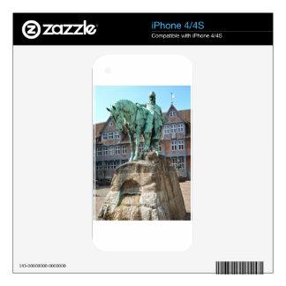 Wolfenbüttel, rider monument (Wolfenbuettel) Skins For iPhone 4S
