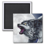 Wolfe's Wolf Magnets