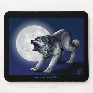 Wolfe's Wolf Mouse Pad