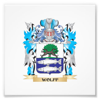 Wolff Coat of Arms - Family Crest Photo