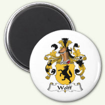 Wolff Family Crest Magnet