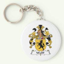 Wolff Family Crest Keychain