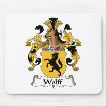 Wolff Family Crest Mousepad