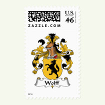 Wolff Family Crest Stamps