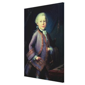 Wolfgang Amadeus Mozart, 1763 Impresiones De Lienzo