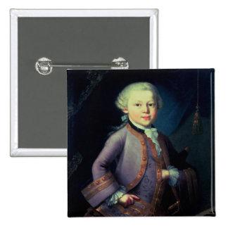 Wolfgang Amadeus Mozart 1763 Pin