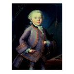 Wolfgang Amadeus Mozart, 1763 Postales