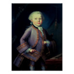 Wolfgang Amadeus Mozart, 1763 Poster