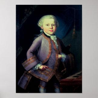 Wolfgang Amadeus Mozart, 1763 Póster