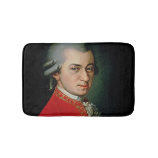 Wolfgang Amadeus Mozart, 1818 Bathroom Mat