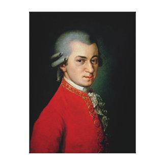 Wolfgang Amadeus Mozart, 1818 Canvas Print