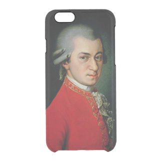 Wolfgang Amadeus Mozart, 1818 Clear iPhone 6/6S Case