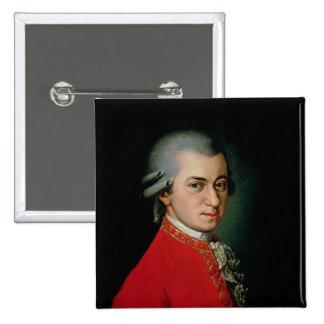 Wolfgang Amadeus Mozart, 1818 Pinback Button