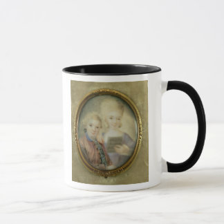 Wolfgang Amadeus Mozart  and his sister Mug