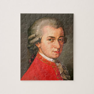Wolfgang Amadeus Mozart as puzzles