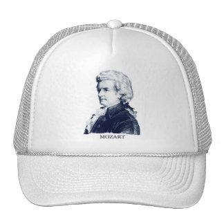 Wolfgang Amadeus Mozart azul Gorras De Camionero
