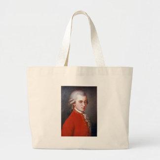 Wolfgang-amadeus-mozart Canvas Bags