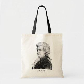 Wolfgang Amadeus Mozart, black Bag