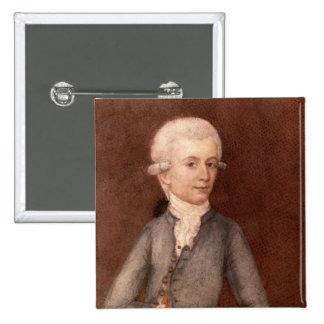 Wolfgang Amadeus Mozart c 1780 Pin