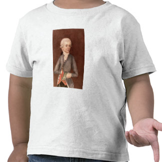 Wolfgang Amadeus Mozart c 1780 Tee Shirt