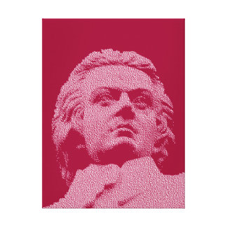 Wolfgang Amadeus Mozart - Classical Music Canvas Print