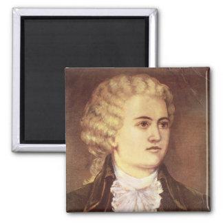 Wolfgang Amadeus Mozart durante su estancia Imanes