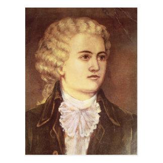 Wolfgang Amadeus Mozart durante su estancia Postal