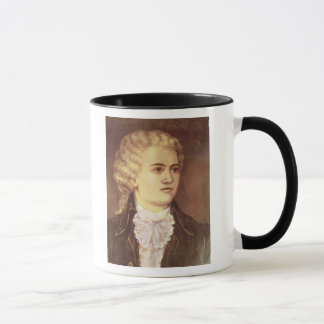 Wolfgang Amadeus Mozart  during his stay Mug