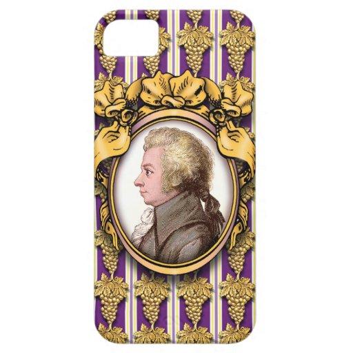 Wolfgang Amadeus Mozart iPhone 5 Case-Mate Cobertura