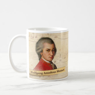 Wolfgang Amadeus Mozart Historical Mug