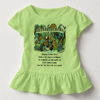 Wolfgang Amadeus Mozart Inspirational Quotes Toddler T-shirt
