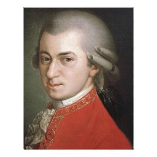 Wolfgang Amadeus Mozart Letterhead