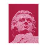 Wolfgang Amadeus Mozart - música clásica Impresión En Lona Estirada