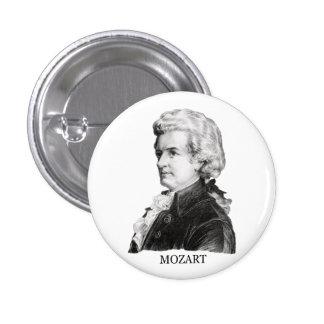 Wolfgang Amadeus Mozart negro Pin