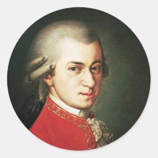 Wolfgang Amadeus Mozart Pegatina