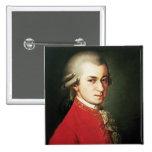 Wolfgang Amadeus Mozart Pinback Button