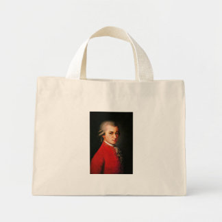 Wolfgang Amadeus Mozart portrait Canvas Bag