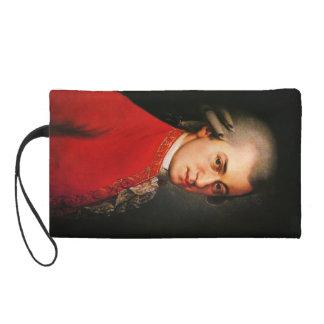 Wolfgang Amadeus Mozart portrait Wristlet Clutch