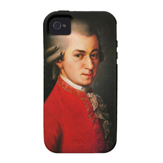 Wolfgang Amadeus Mozart portrait Vibe iPhone 4 Cover