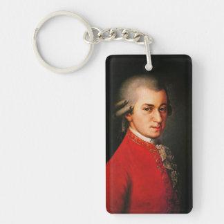 Wolfgang Amadeus Mozart portrait Keychain