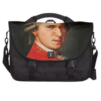 Wolfgang Amadeus Mozart portrait Bag For Laptop