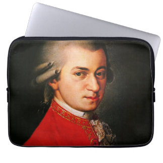 Wolfgang Amadeus Mozart portrait Laptop Sleeve