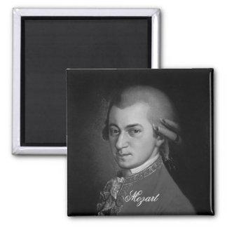 Wolfgang Amadeus Mozart Portrait Fridge Magnet