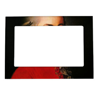 Wolfgang Amadeus Mozart portrait Picture Frame Magnet