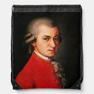 Wolfgang Amadeus Mozart portrait Backpack