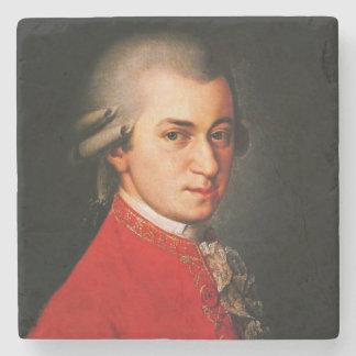Wolfgang Amadeus Mozart portrait Stone Coaster